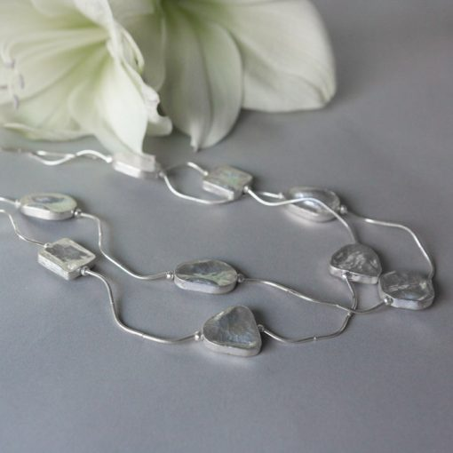 handmade silver necklace part of our handmade silver jewellery range