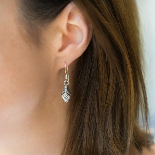 Handmade Silver Earring part of our handmade Silver jewellery range